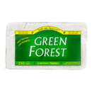 Green Forest Luncheon Napkins, 1 ply, White, Recycled - 250 ct