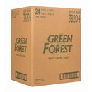 Green Forest Facial Tissue Unscented, 2 ply, White, Recycled - 24 x 1 box