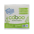 Caboo Luncheon Napkins, Bamboo & Sugarcane, 1 ply, White - 250 ct