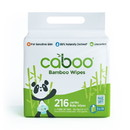 Caboo Baby Wipes, Bamboo, Natural Aloe Scent, Value Pack - 216 ct