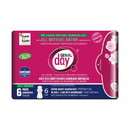 Genial Day Pads, Extra Heavy Overnight/Postpartum, Eco-Certified - 6 x 6 ct