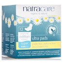 Natracare Ultra Super Pads with Wings - 12 ct