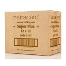 Natracare Ultra Super Plus Pads, Natural - 12 x 12 ct