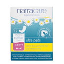 Natracare Ultra Super Plus Pads, Natural - 12 ct