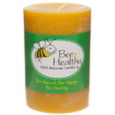 Bee Healthy Candles Candle, Beeswax, Pillar 3 inch x 4 inch - 1 each