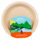 World Centric Plates, Compostable, 9 in, NF747