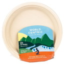 World Centric Plates, Compostable, 10 in - 3 x 20 ct