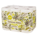 Natural Value Bath Tissue 250 2ply sheets-Recycled - 2 x 12 rolls