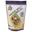 BetterFoods Mixed Nuts, Unsalted, Deluxe Omega-3, Raw