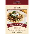 Azure Market Traditional Homemade Egg Noodles, Medium 1/4 inch
