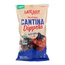 Late July Tortilla Chips, Blue Corn, Restaurant Style Dippers