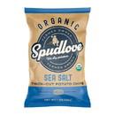 Spudlove Potato Chips, Thick Cut Sea Salt, Organic
