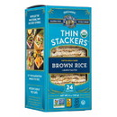 Lundberg Thin Stackers, Brown Rice, Organic Lightly Salted