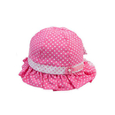 TopTie Baby Floral Bucket Hat with Dots Infant Sun Cap for Spring Summer