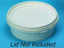 Basco 8 ounce Round Plastic Container IPL Retail Series