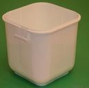 Basco 1 Gallon Square Plastic Container IPL Tamper Evident