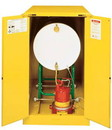 Basco Justrite Safety Cabinet Horizontal Drum Storage 2 Door Manual