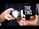 Basco Round Metal Tin Lid 4 Ounce Seamless Tin Can