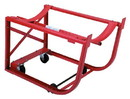 Basco Drum Cradle With Tipping Lever Polyolefin Wheels On Swivel Casters