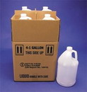 Basco 1 Gallon Polyethylene Bottles With Shipping Box - UN Rated 4G Packaging
