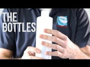 BASCO 1 Gallon Round Natural Plastic Bottle