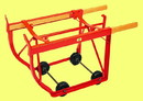 Basco Combination Drum Cradle 5 Inch Hard Rubber Wheels