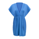 TopTie V Neck Beach Dresses, Cover-up Wrap, Swimsuit Bikini Dress Cover Up