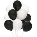 Muka 100 Pack Thickened Latex Balloons 12 Inch, Round Balloons for Halloween Decoration, Party Accessory