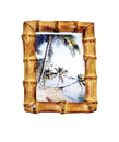 Bamboo54 Bamboo Root Natural Picture Frame