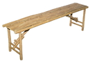 Bamboo54 Long Bamboo Folding Bench