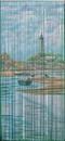 Bamboo54 5278 Lighthouse Beach Scene Curtain