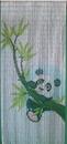 Bamboo54 5281 Panda Scene Curtain