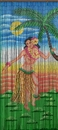 Bamboo54 5292 Dancing Hula Girl Curtain