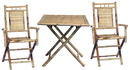 Bamboo54 5453 Bamboo square 3 piece bistro set