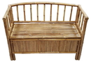 Bamboo54 5836 Bamboo bench with storage