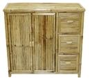 Bamboo54 5837 Bamboo Shelf with drawers