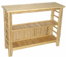 Bamboo54 5842 Bamboo fancy console table