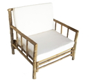 Bamboo54 5855 Chai Chair with Cushion