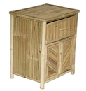 Bamboo54 5894A Night Stand with Doors