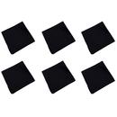 TOPTIE 6PCS Cotton Bandanas for Men Women, 20 Inch Handkerchief Scarf Hair Wrap