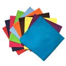 TOPTIE 20 Inch Cotton Bandana, Neck Scarf, Square Handkerchief, Hair Wrap Wholesale