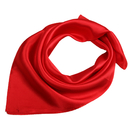 TOPTIE Solid Color Silk Scraf 19 Inch, Bulk Sale Square Scarves