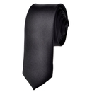 TOPTIE Men's Solid Color Skinny Necktie, 2