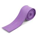 TOPTIE Men's Skinny Square End Tie, Flat End Necktie, 2 Inch Width