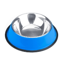 Brybelly 16oz. Blue Stainless Steel Dog Bowl