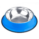 Brybelly 72oz. Blue Stainless Steel Dog Bowl