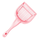 Brybelly Coral Cat Litter Scoop with Reinforced Comfort Handle