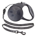 Brybelly 10-foot Black Extra-Small Retractable Dog Leash