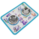 Brybelly Cat-titude Cat Bowls and Mat