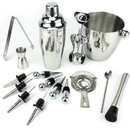 Brybelly 16 Piece-Stainless Steel Bar Set